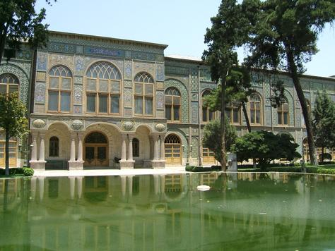 Autoexpedition The Great Silk Route - Golestan Palace